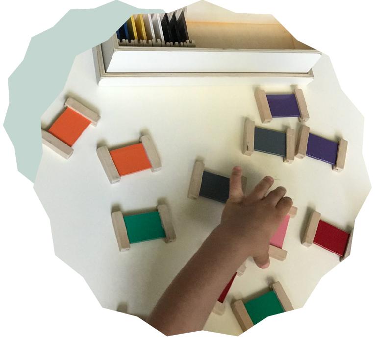 Acompañamos a crear y guíar al niño/a en un ambiente preparado